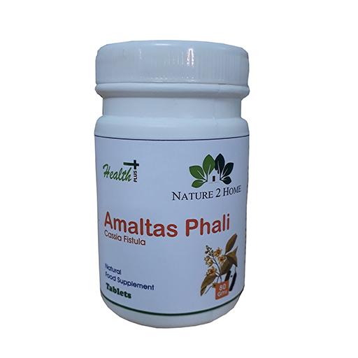 Amaltas Phali (Cassia Fistula) Powder Tablets: 80 Gms