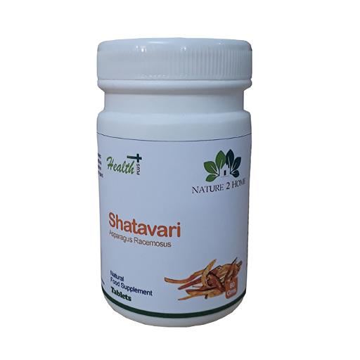 Shatavari (Asparagus Racemosus) Powder Tablets: 80 Gms