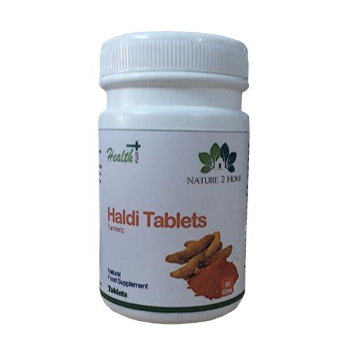 Haldi (Turmeric) Powder Tablets: 80 Gms