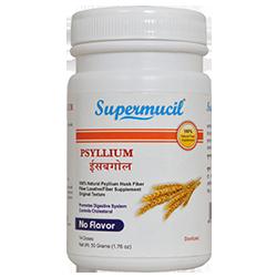 SUPERMUCIL Psyllium Husk (Isabgol): 50 Gms